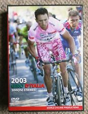 2003 Giro d'Italia World Cycling Productions 3 DVD 4 hrs Gilberto Simoni Clean