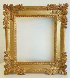 Grand CADRE XVIIIème en bois sculpté et doré. 50 x 45 cm.