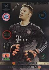Manuel Neuer Limited Edition - Panini Adrenalyn XL Champions League 2014/15