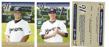 COMPLETE 2017 HELENA BREWERS TEAM SET MINOR LGE R MILWAUKEE BREWERS