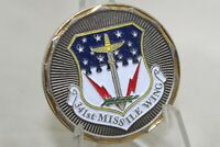 U.S. Air Force Malmstrom AFB 341st Missile Wing Challenge Coin