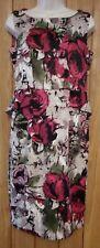 Per Una Smart Ladies Vibrant Floral Dress Formal Business Size 10