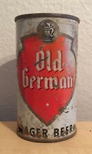 Vintage Old German Lager Beer Can Flat Top Breweriana Empty 12 oz