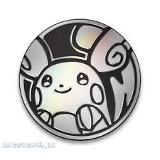Pokemon Alolan Raichu Coin :: Official Pokemon Coin from Lycanroc & Alolan Raich
