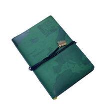 WORLD TRAVEL JOURNAL Green Embossed Bucket List Holiday Travellers Pad XBETJ003