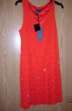 BNWT🌹Next Premium🌹Size 10 T Collection Tailored Shift Dress Rust Orange £175