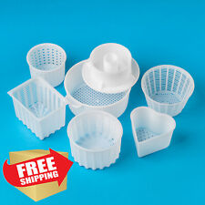 Homemade Cheese making Mold set | Cheese supplies from the manufacturer ( 6 pcs)