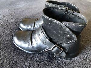 Replay Herren Boots Stiefel Gr. 43 Echt Leder Vintage Style Mega Cool!!