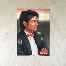 Supreme box MJ sticker vinyl decal skateboard Michael Jackson NYC bumper laptop