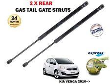 FOR KIA VENGA 1.4 1.6 CVVT + CRDI 2010-> NEW 2 X REAR TAIL GATE STRUT SHOCKS