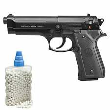 Beretta M92 FS HME Metallschlitten Federdruck Softair-Pistole 6 mm BB <0,5J(P14)