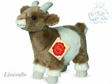 Brown & White Goat Plush Soft Toy by Teddy Hermann Collection. 91719