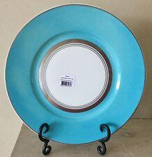 RAYNAUD Limoges dinner plate CRISTOBAL TURQUOISE Alberto Pinto - list $152