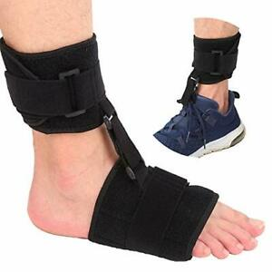 Soft AFO Foot-up Drop Foot Brace Black Free Size and Easy to Adjust HighQuality