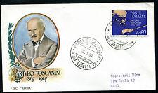 1967 - Arturo Toscanini - n.1035 - Busta FDC