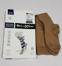 RELAXSAN COTTON SOCKS 15-20 mmHg  Code : 820 / SKIN Color / Size 2-S .LONG SOCKS
