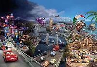 Disney Papier Peint Mural Mur pour Enfants Chambre Poster Géant Style Cars Monde
