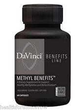 Davinci Labs Methyl Benefits 30 caps