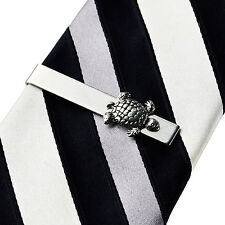 Turtle Tie Clip - Tie Bar - Tie Clasp - Business Gift - Handmade - Gift Box