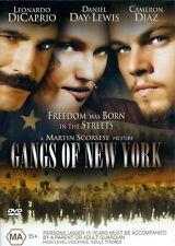 Gangs Of New York - Action / Violence / Thriller - Leonardo DiCaprio - NEW DVD