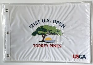2021 U.S. open flag Torrey Pines golf embroidered pin flag new