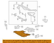 Lexus TOYOTA OEM SC430 Under Radiator/Engine-Cover Splash Shield 5144124040
