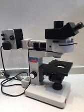 Leitz Wetzlar Laborlux K Microscope vertical Fluorescence Ploemopak Illuminateur