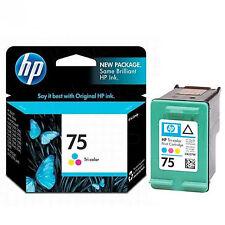 2017 IN RETAIL BOX Genuine OEM HP 75 HP #75 Color Printer Ink CB337WN