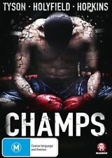 CHAMPS - BRAND NEW SEALED DVD - TYSON HOLYFIELD HOPKINS BOXING