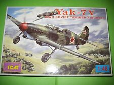 YAK 7 V TWIN SEATER BY ICM 1/48 - REF.48033