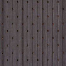 Clarke & Clarke Pallanza Striped Copper Dotted Sheer Fabric