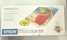 Epson Stylus Printer 777 New / Open Box 2001
