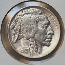1915 P Buffalo Nickel - Gem BU / MS / UNC
