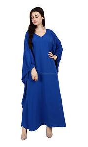 Women Dubai Gown Abaya Dress Muslim Clothing Jalabiya Islamic Abaya maxi Kaftan