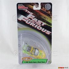 Fast and Furious 1:64 1995 Toyota Supra Green series 8 Racing Champions - worn