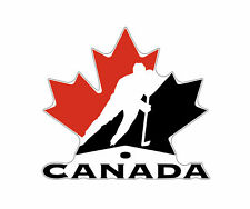 Canada Team Hockey Vinyl Sticker Decal / wall, car bumper, window, laptop, phone