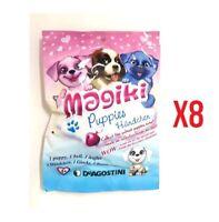 Magiki Puppies Lotto 8 Bustine Personaggi 3D De Agostini