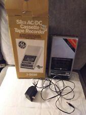 Vintage Ge General Electric 3-5016 Slim Ac/Dc Cassette Tape Recorder Player