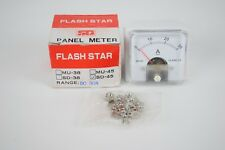Flash Star Sd-45 Dc Panel Meter 30A Ammeter Gauge Analog Current