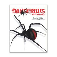Dangerous Australians Semi-Imperf Red-Back Spider Special Edition Mini Sheet