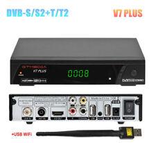 Black Box Digital Converter Box for tv DVB-S/S2+T/T2 Satellite TV Receiver Wifi