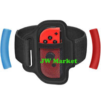 For Nintendo Switch Ring Fit Adventure Fitness Exercise Ring-Con Grips+Leg Strap