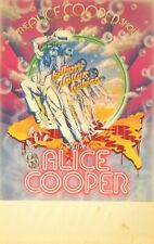 THE ALICE COOPER SHOW 1973 BILLION DOLLAR BABIES TOUR CONCERT POSTER BLANK / EX