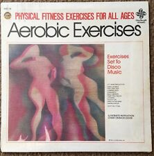 SEALED Physical Fitness Aerobic Exercises Set To DISCO Music vinyl LP 1981 AA