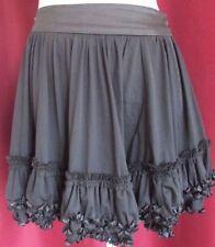 New Look Polyester Regular Flippy, Full Skirts for Women