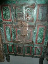 Ancien meuble à grain indien 18eme