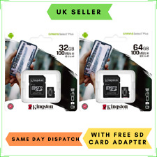 32GB 64GB Micro SD Memory Card for Cycliq Fly6 CE GEN3, Fly12 CE Cycle Camera