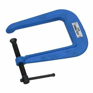"""2"""" (50mm) Deep Throat (3-1/2"""") G Clamp Grip Holder Clamp Vice Clamping"""