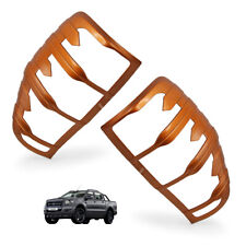 Orange FLQ Rear Tail Lamp Light Cover For Ford Ranger T6 MC 2012 2018