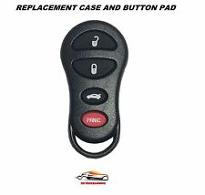 Replacement Car Key Fob Remote 300M Concorde LHS Intrepid Liberty 04602260 Case